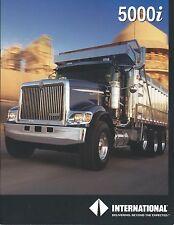 Truck Brochure - International - 5000i series - Dump Truck Cover (T2158)
