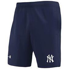 New York Yankees Under Armour MK-1 Performance Shorts - Navy