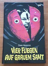 Dario Argento QUATTRO MOSCHE DI VELLUTO GRIGIO - BIG HARTBOX Prima Edizione DVD