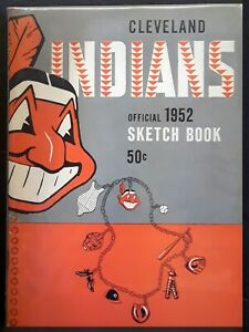 1952 Cleveland Indians Official Sketch Book