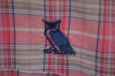 "RARE Peter Millar Short Sleeve Shirt W/Bohemian Club ""Owl"" Logo Size Extra Large"