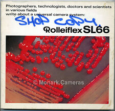 Rolleiflex SL66 Camera & Lens System Technical Instruction Book, Others Listed