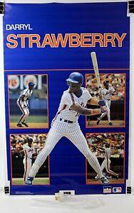 "Darryl Strawberry NY Mets Original MLB Starline Poster 1988 22"" x 34 1/2"""
