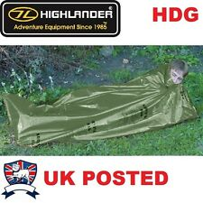 OG MILITARY ARMY EMERGENCY BIVI SLEEPING BAG SURVIVAL SHELTER TENT SAS BUSHCRAFT