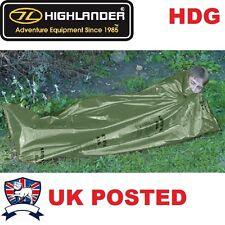 HIGHLANDER EMERGENCY BIVI SLEEPING BAG MILITARY ARMY SURVIVAL SHELTER TENT SAS