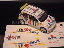 DECAL CALCA 1/43 SUZUKI IGNIS M. ANDERSSON RALLY CATALUNYA 2003