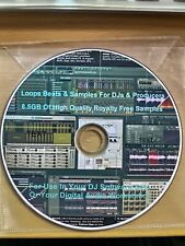 8.5GB Loops Beats & Samples For DJs & Producers High Quality Royalty Free