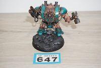 Warhammer 40k Chaos Space Marines Hellbrute LOT 647 - Painted & Based
