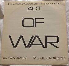 "ELTON JOHN / MILLIE JACKSON - Act Of War (Extended Remix) (12"" 1985)"
