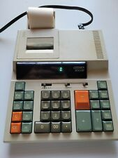 Citizen 200DP Desktop Calculator with printing tape and fluorescent display
