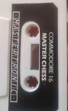 Master Chess (Mastertronic, 1986) C16 Kassette (Tape) 100% ok