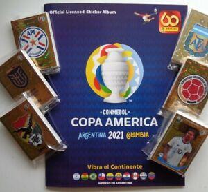 PANINI COPA AMERICA 2021 Argentina Colo Soft COVER ALBUM + Stickers Complete set