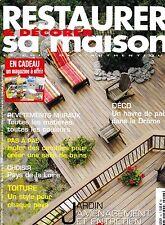 RESTAURER ET DECORER SA MAISON. N° 96. REVETEMENTS MURAUX. COMBLES. BAINS