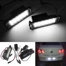Canbus LED Licence Number Plate Light No Error VW Seat Ibiza 6J Leon Exeo Altea