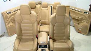 Porsche Cayenne V8 TURBO OEM complete SEATS SITZE door panel