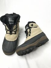 Itasca Womens Hiking Winter Boots Beige Black Suede US7 Worn Once Thinsulate