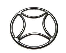 Edelstahl Shibari-Ring Fesselring Suspension Ring