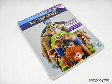 Hotel Transylvania 2 Limited Edition Blu-Ray SteelBook (Region Free) UK Import