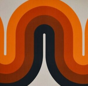 Reproduction Iconic Verner Panton 70's Art Kitchen Bathroom Wall Tile 2 Sizes