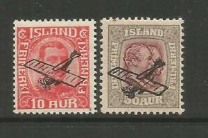 ICELAND, AIRMAIL, SET MH