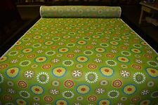 "Outdoor Fabric Green Canvas Duck Swavelle Terrace Grass Poly  54""W UV Upholstery"