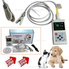 CMS60D-VET Pulse Oximeter spo2 pulse rate animal ear clip probe PC software