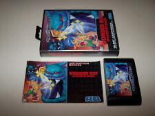 WONDER BOY MONSTER WORLD / Sega Megadrive / UK PAL / Boxed & Complete / Original