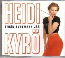 (AO89) Heidi Kyro, Ethan Suremaan Jaa - 1996 CD
