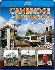 Cambridge to Norwich Cab Ride. *Blu-ray (Class 170 DMU)