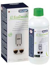 Delonghi Magnifica Espresso Coffee Maker Machine Natural Descaler 500ml NOKALK