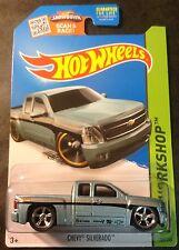 Hot Wheels CUSTOM Super Chevy Silverado with Real Riders