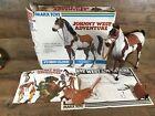 Vintage Louis Marx Pinto Horse Johnny West Adventure Storm Cloud Original Box