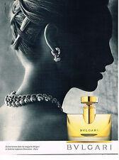 PUBLICITE ADVERTISING 114  1994  BULGARI  parfum & joaillerie