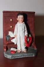 Dave Grossman, Norman Rockwell figurine, Discovery, Boy Finds Santa Suit - EC
