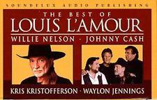 The Best Of Louis Lamour Cassette Set Soundelux Audio Publishing NEW