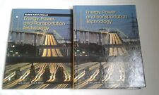 Energy, Power and Transportation Technology Litowitz & Brown with Workbook NEW