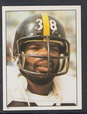 TOPPS 1981 Football Americano Adesivo N. 77-Sidney Thornton-Steelers (T404)
