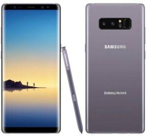 Samsung Galaxy Note8 N950U - 64GB - Orchid Gray - T-Mobile Mint Metro Sprint