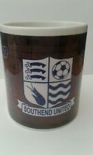 SOUTHEND UNITED FC -PRESLEY HEDGES -CERAMIC MUG - GOOD CONDITION