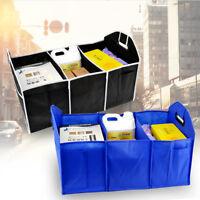 Car Trunk Storage Bag Organizer Foldable Shopping Travel Holder Compartment Box