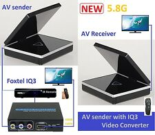 New 5.8G AV sender with Foxtel iq3 video converter for Foxtel IQ3