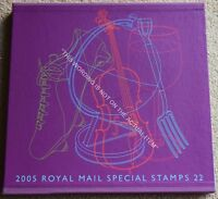 Royal Mail Special Stamps Year Book #22 for 2005, Complete with all Stamps.