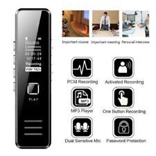 DE  Digital Diktiergerät Tragbar Aufnahmegerät Audio Sound Voice Recorder MP3 32
