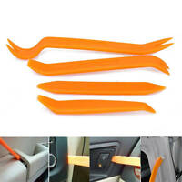4 x Car Removal Open Tools Door Clips Kit Panel Radio Trim Dash Audio Installer