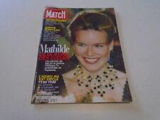 PARIS MATCH N°2635  MATHILDE - SOPHIE MARCEAU - ANNA NICOLE SMITH  DE  1999