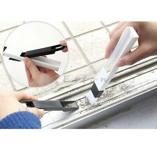 Window Track Cleaning Soft Brushes Shower Sliding Door Wash Cleaner Dust Shovel