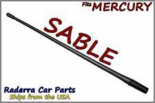 "FITS: 1986-2005 Mercury Sable - 13"" SHORT Custom Flexible Rubber Antenna Mast"