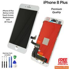 NEW iPhone 8 Plus Retina LCD & Digitiser Touch Screen Replacement AAA - WHITE