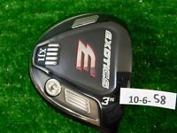 Tour Edge Exotics XJ-1 15* 3 Wood Fujikura Air Speeder Stiff Graphite 43.25""