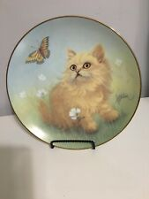 Delightful Discovery Bob Harrison Hamilton Collection Curious Kittens Butterfly